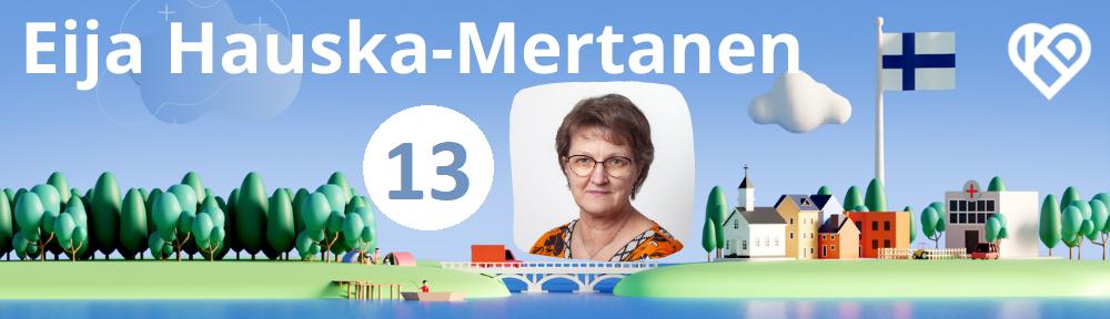 Eija Hauska-Mertanen